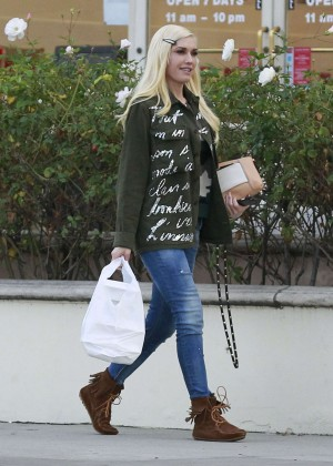 Gwen Stefani out and about in Los Angeles