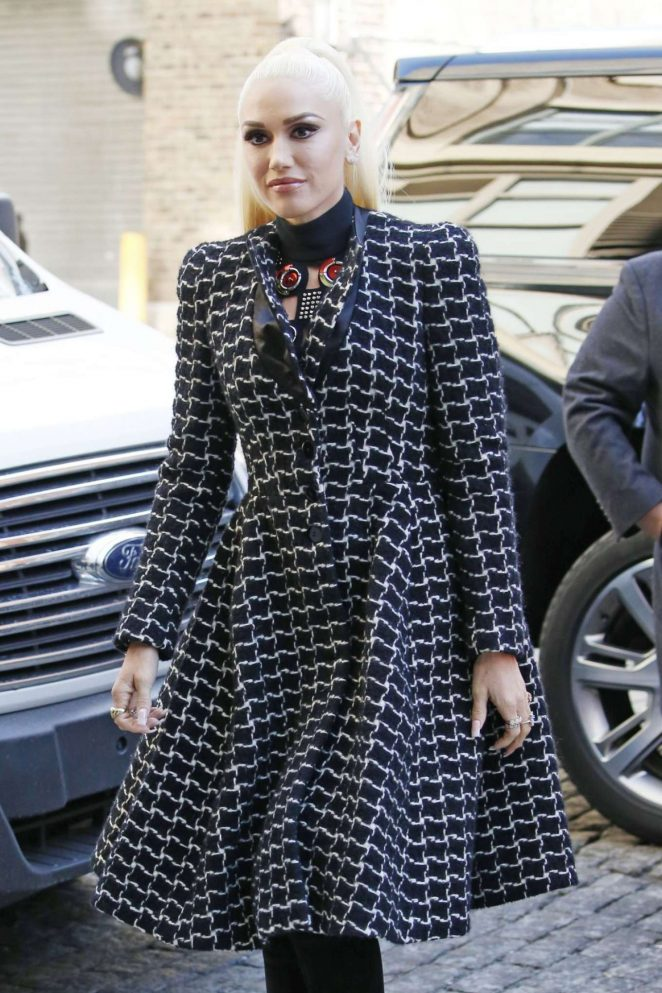 Gwen Stefani Out in New York