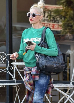 Gwen Stefani - Out in Studio City