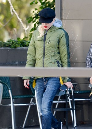 Gwen Stefani out in West Holllywood