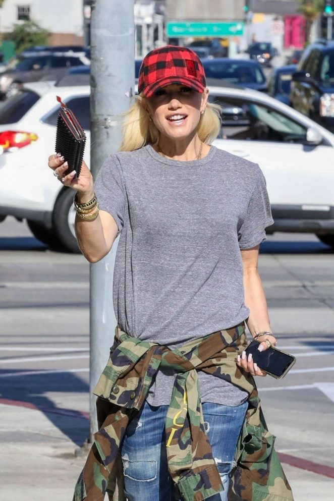 Gwen Stefani - Out in West Hollywood