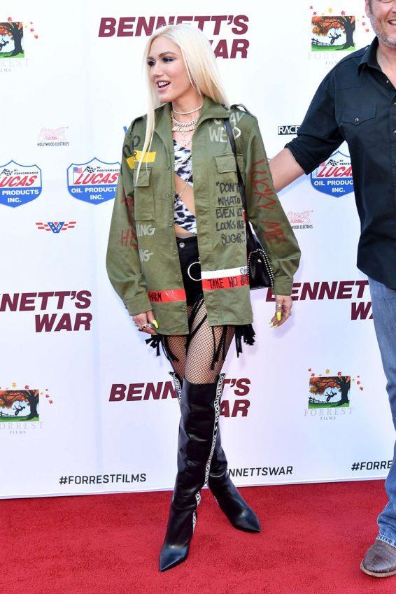 Gwen Stefani 2019 : Gwen Stefani – Photocall at the premiere of Bennett's War in Burbank-05