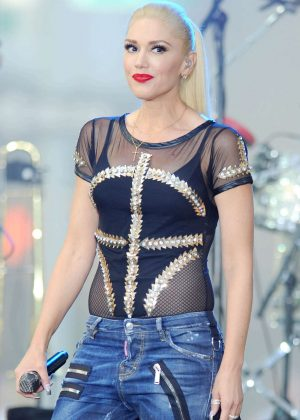 Gwen Stefani - Today Show Concert Series in New York City