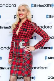 Gwen Stefani - Visits The SiriusXM Studios in New York City