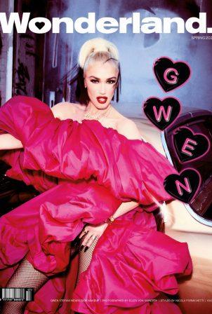 Gwen Stefani - Wonderland Magazine (Spring 2021)