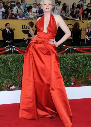 Gwendoline Christie - 2015 Screen Actors Guild Awards in LA