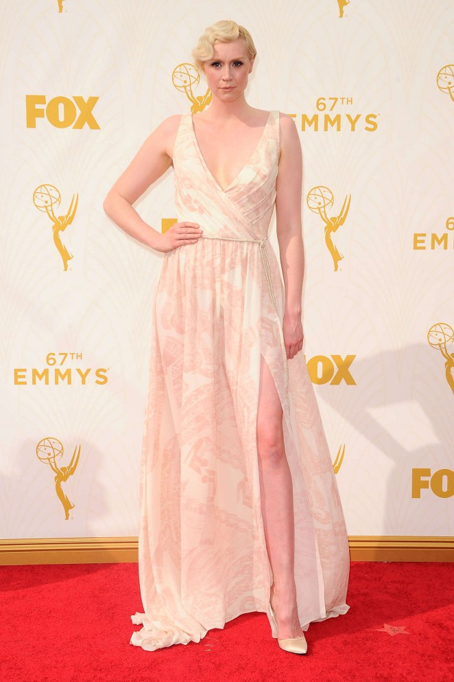 Gwendoline Christie - 2015 Emmy Awards in LA