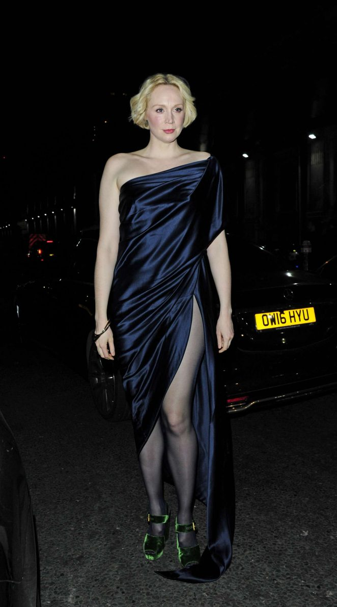 Gwendoline Christie at Vivienne Westwood and James Jagger's Mad Max Party in London