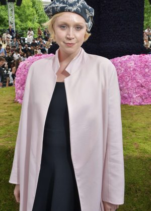 Gwendoline Christie - Dior Homme Show SS 2019 at Paris Fashion Week