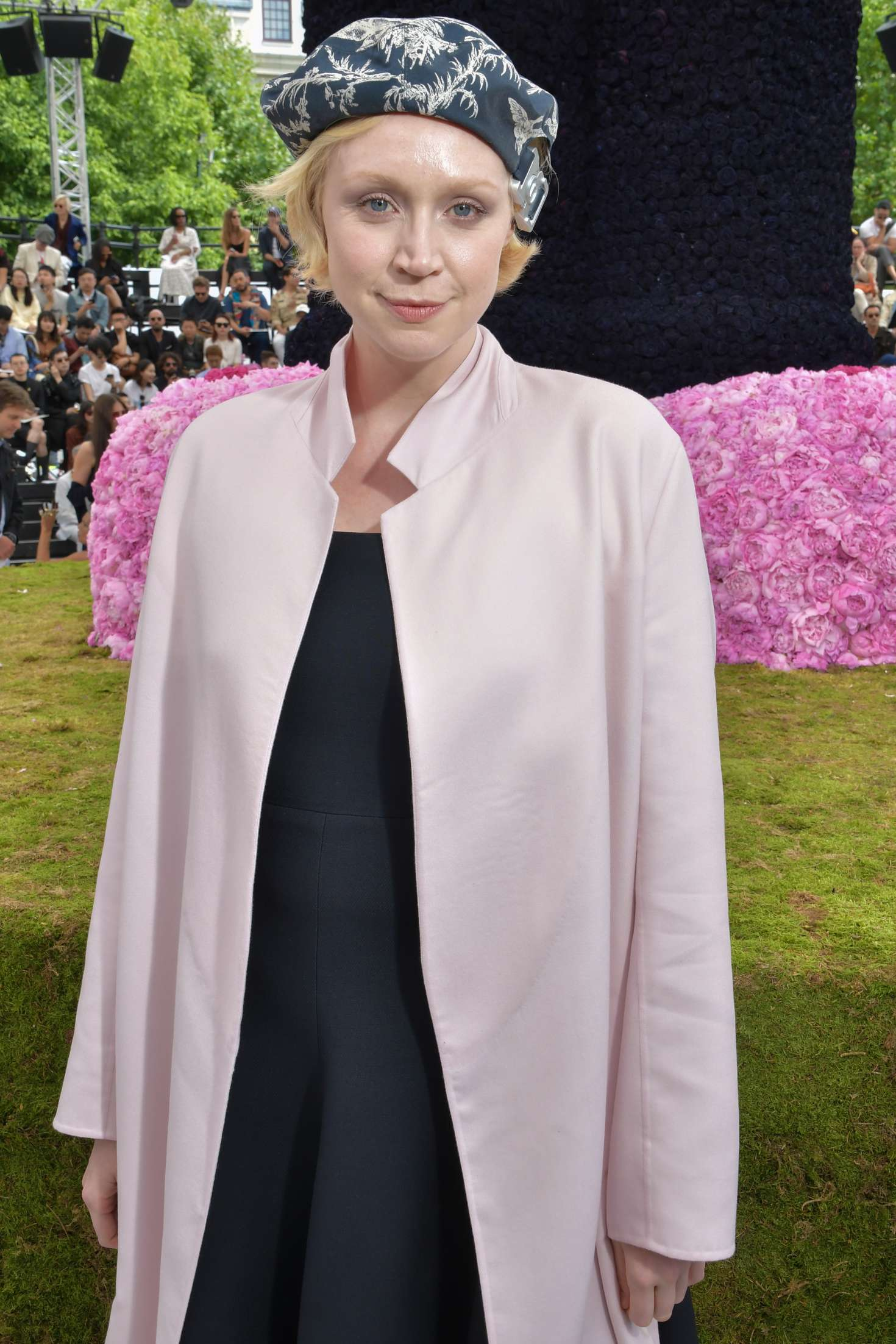 Gwendoline Christie – Dior Homme Show SS 2019 at Paris Fashion Week