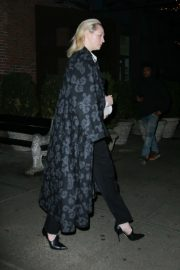 Gwendoline Christie - Leaving her hotel in New York City