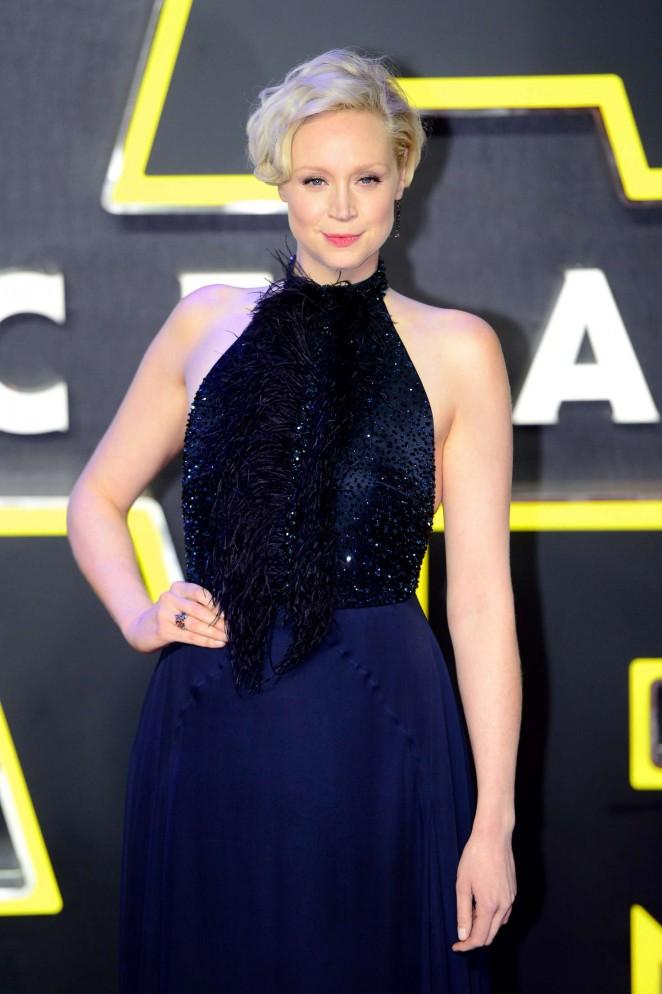 Gwendoline Christie - 'Star Wars: The Force Awakens' Premiere in London