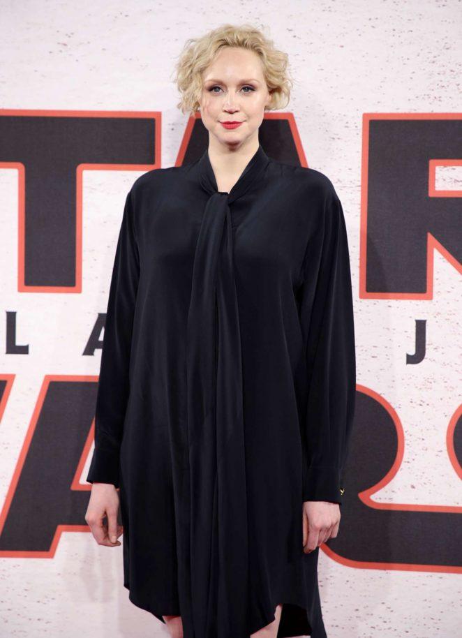 Gwendoline Christie - 'Star Wars: The Last Jedi' Photocall in London