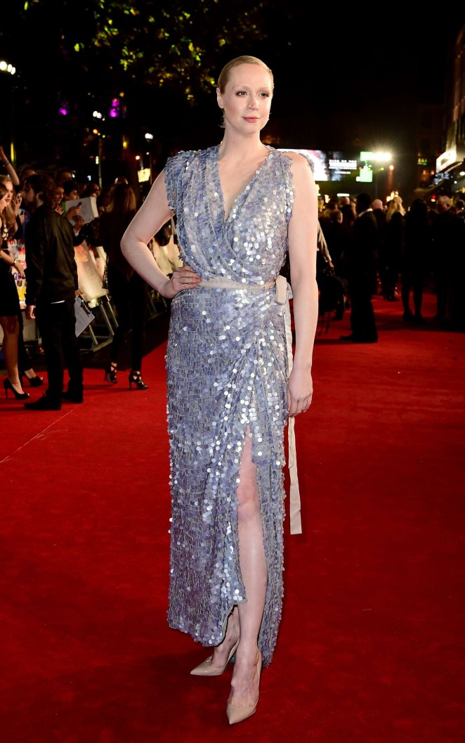 Gwendoline Christie - 'The Hunger Games: Mockingjay' Part 2 Premiere in London