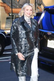 Gwendoline Christie - Visits 'Good Morning America' in New York