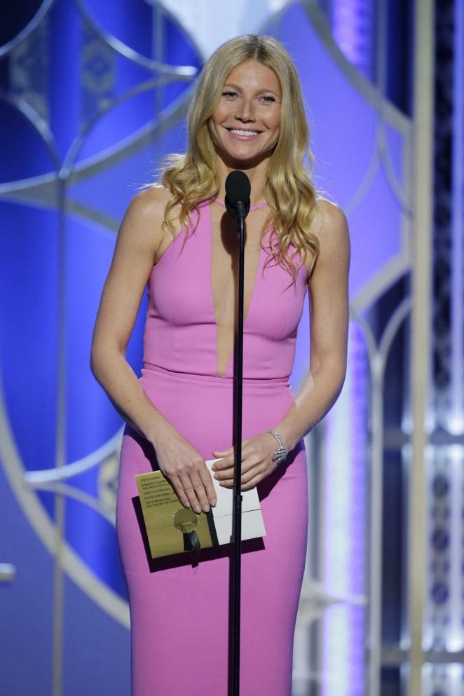 Gwyneth Paltrow - 2015 Golden Globe Awards in Beverly Hills