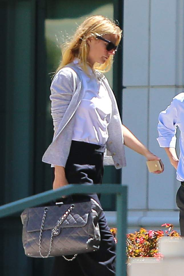 Gwyneth Paltrow - Arrives at an office building in Beverly Hills
