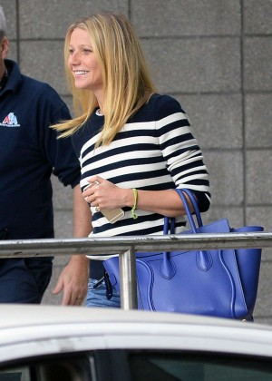 Gwyneth Paltrow - Arrives at LAX Airport in LA