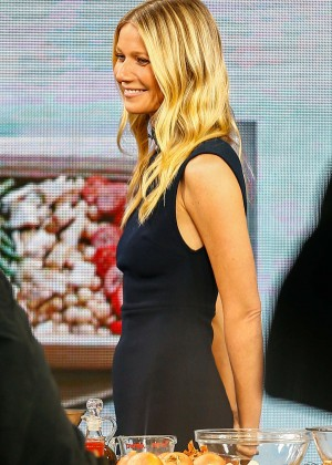 Gwyneth Paltrow at Good Morning America in New York