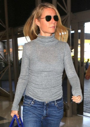 Gwyneth Paltrow at LAX Airport in Los Angeles
