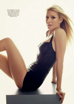 Gwyneth Paltrow - Harper's Bazaar UK - February 2015 adds