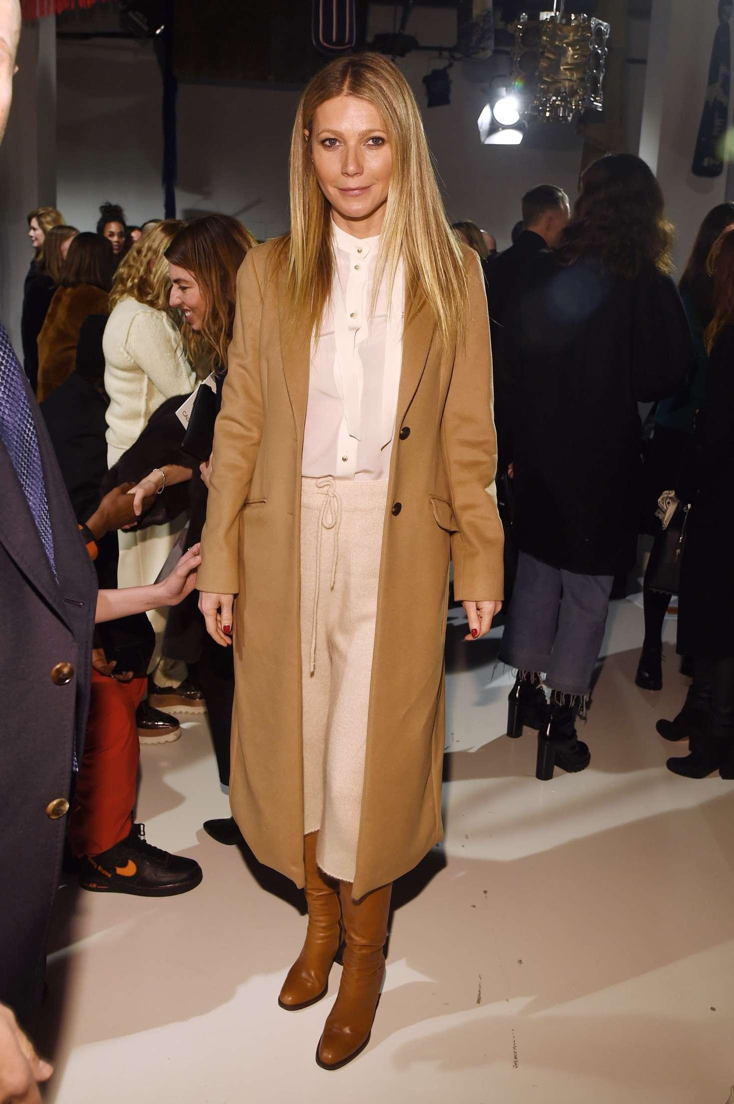 Gwyneth Paltrow: Calvin Klein Show 2017 at NYFW -06