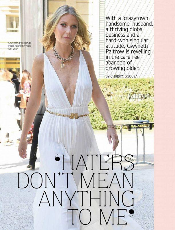 Gwyneth Paltrow - Fairlady Magazine (July 2020)