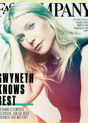 Gwyneth Paltrow - Fast Company Magazine (September 2015)