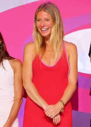 Gwyneth Paltrow - Hamptons Paddle and Pink Party in Sag Harbor
