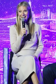 Gwyneth Paltrow - Host panel discussion with Dr. Erel Margalit in New York