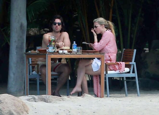 Gwyneth Paltrow 2016 : Gwyneth Paltrow in White Bikini -07