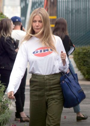 Gwyneth Paltrow - Leaves a business meeting in LA