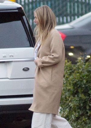 Gwyneth Paltrow - Leaves office building in Los Angeles