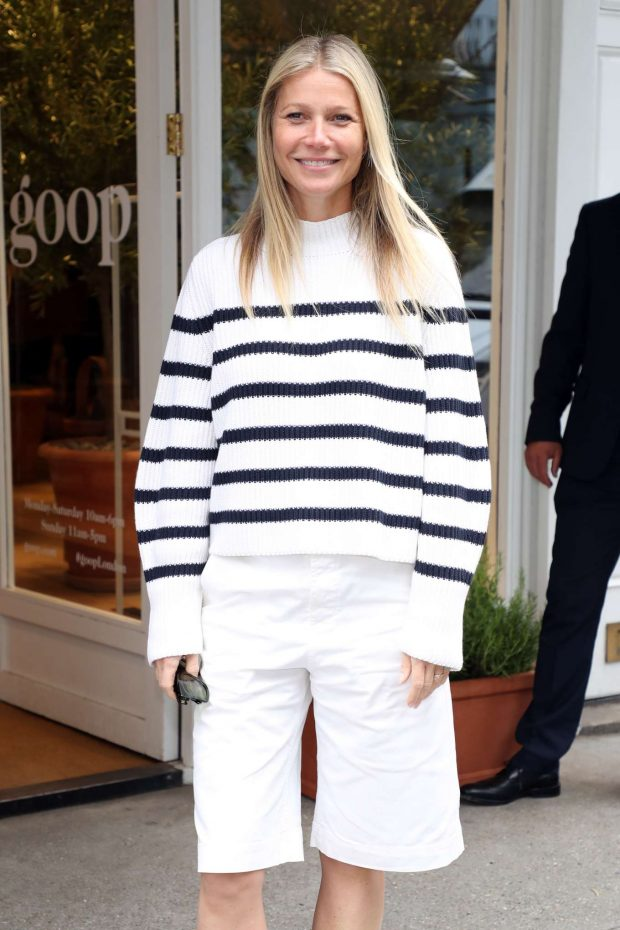 Gwyneth Paltrow - Leaving her GOOP store in London