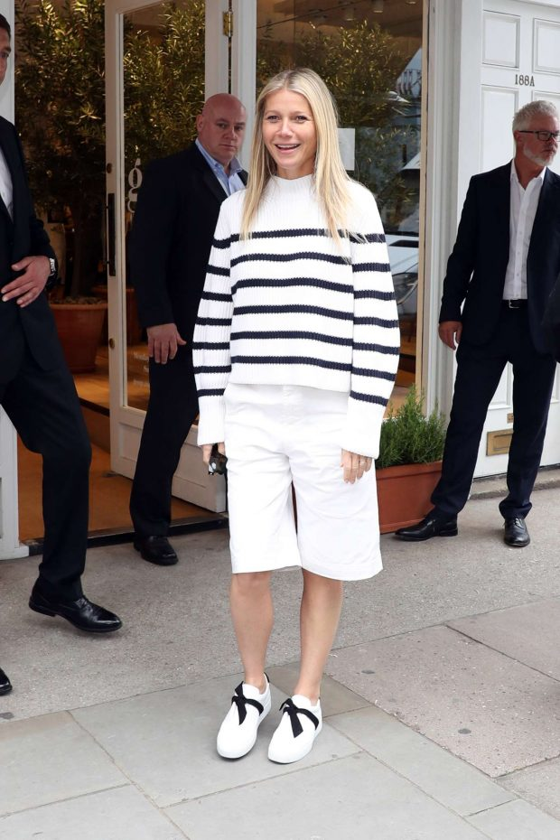 Gwyneth Paltrow: Leaving her GOOP store in London-06