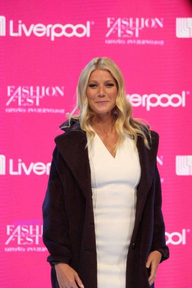 Gwyneth Paltrow - Liverpool Fashion Fest A/W Press Conference 2015 in Mexico City