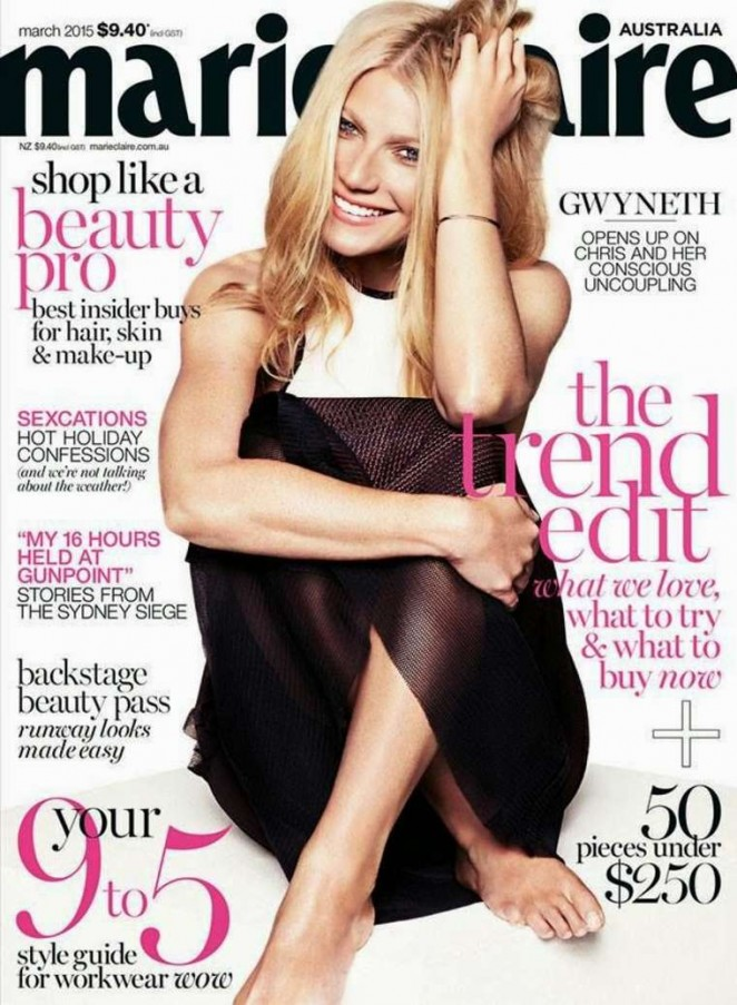 Gwyneth Paltrow - Marie Claire Australia Cover (March 2015)