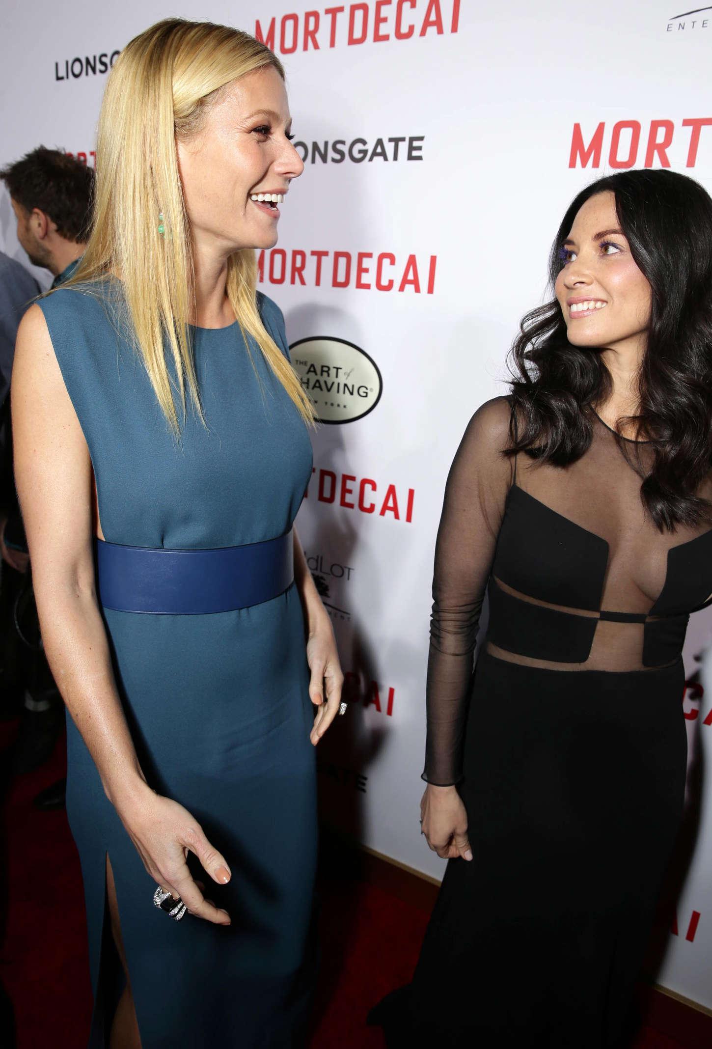 Gwyneth Paltrow 2015 : Gwyneth Paltrow: Mortdecai LA Premiere -06