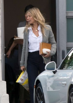 Gwyneth Paltrow - Out and about in Los Angeles