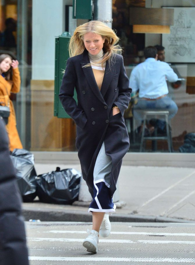 Gwyneth Paltrow: Out and about in New York City -01