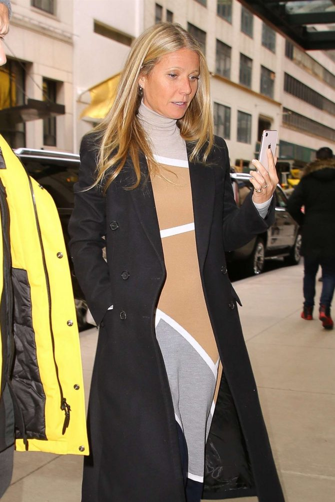 Gwyneth Paltrow - Out and about in New York City