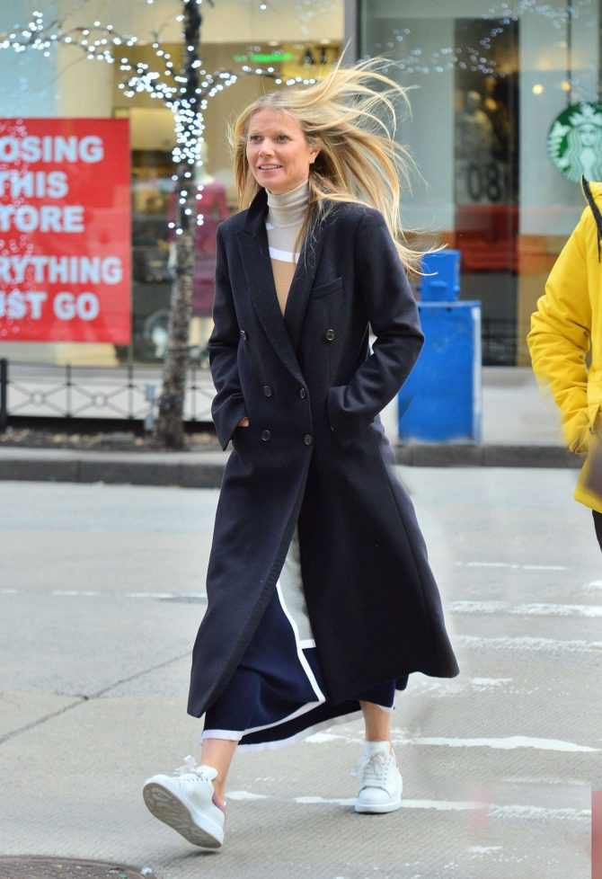 Gwyneth Paltrow: Out and about in New York City -07