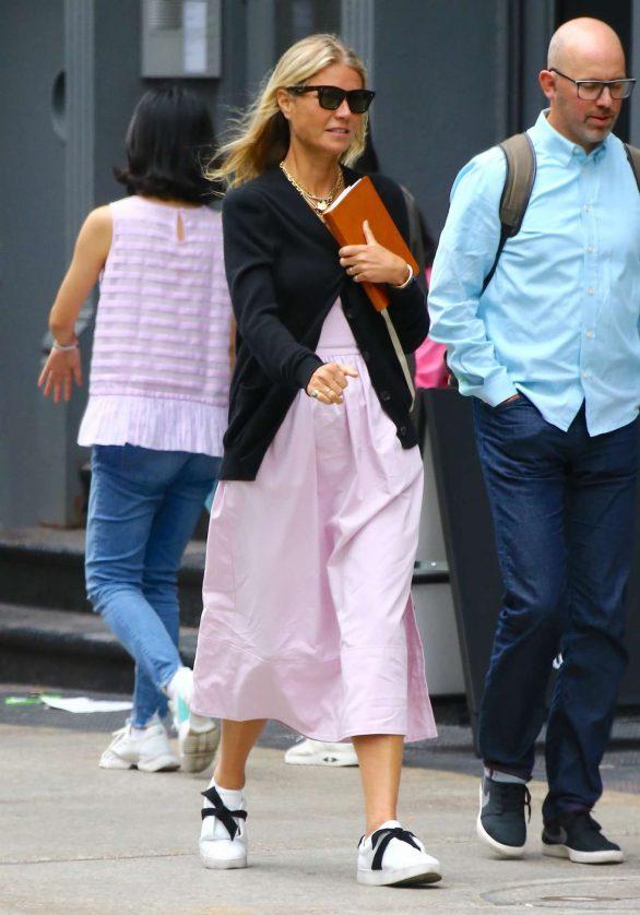 Gwyneth Paltrow - out in New York