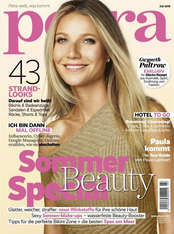 Gwyneth Paltrow -  Petra Magazine (July 2018)