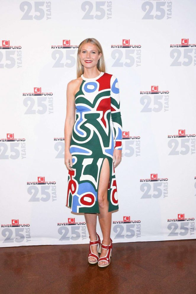 Gwyneth Paltrow - River Fund's Silver Anniversary Gala in New York