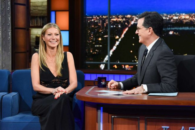 Gwyneth Paltrow - 'The Late Show with Stephen Colbert' in NY