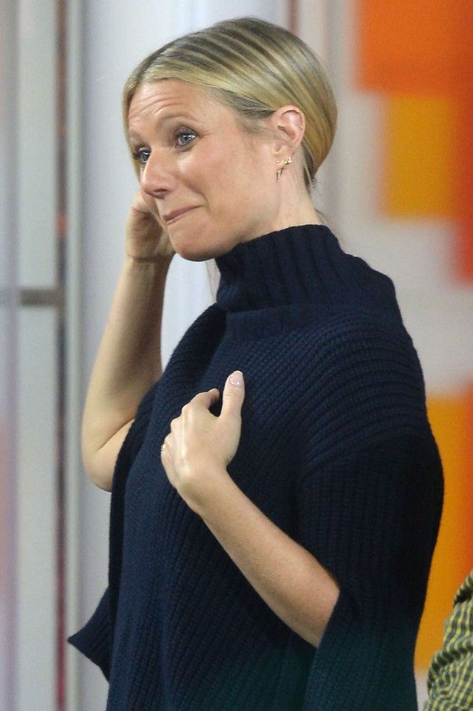 Gwyneth Paltrow - Visits the 'Today Show' in New York