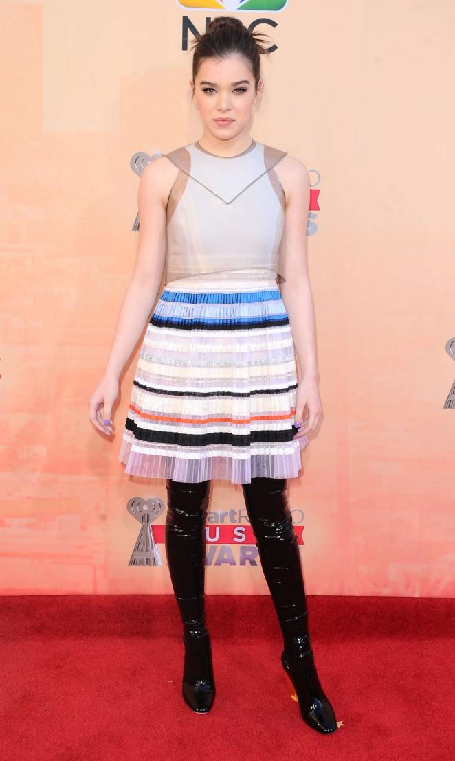 Hailee Steinfeld - 2015 iHeartRadio Music Awards in LA