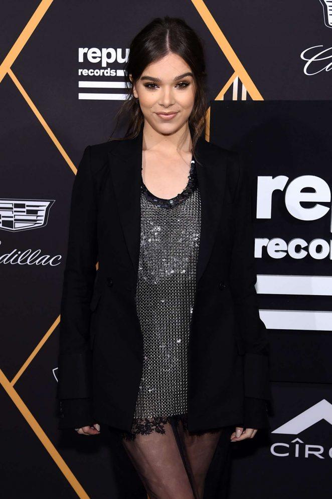 Hailee Steinfeld - 2018 Republic Records GRAMMY Awards Party in NY
