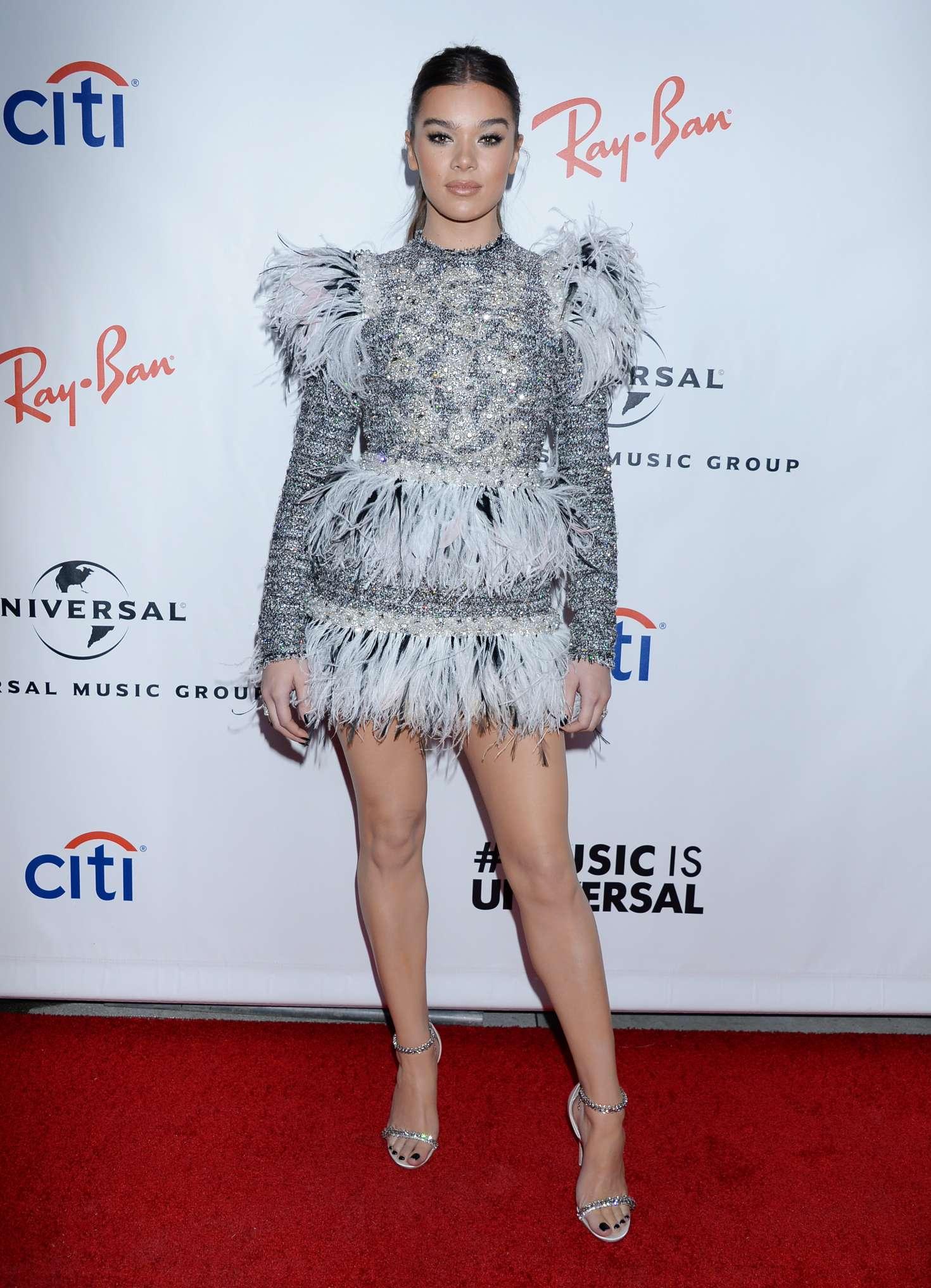 Hailee Steinfeld 2019 : Hailee Steinfeld: 2019 Universals Grammys After Party -06